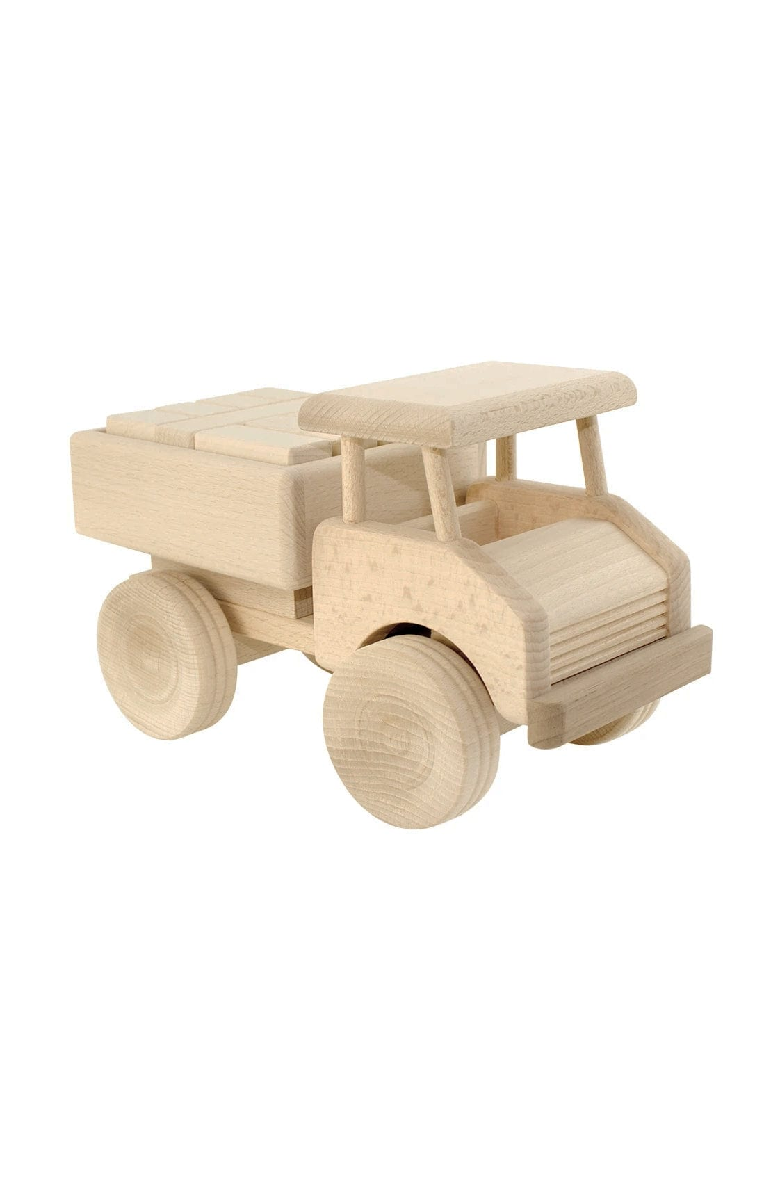 Jasio Wooden Truck With Blocks, Darby - Hello Little Birdie