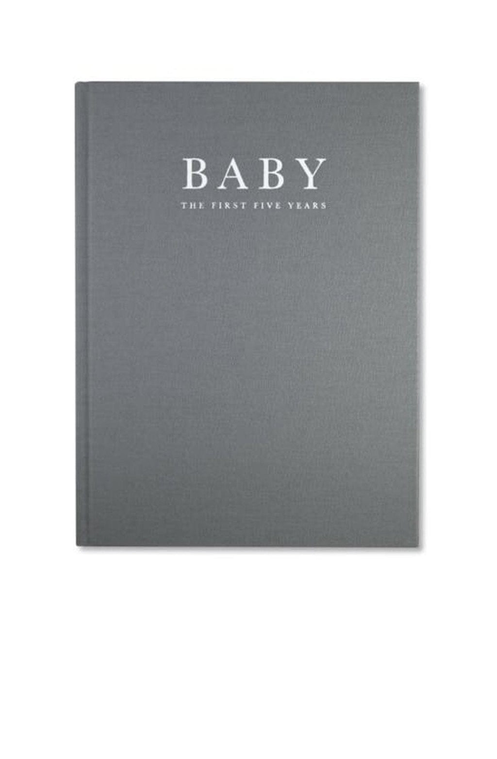 Write To Me, Baby Journal - Birth To Five Years, Grey