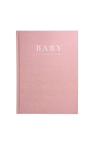 Write To Me, Baby Journal - Birth To Five Years, Pink - Hello Little Birdie