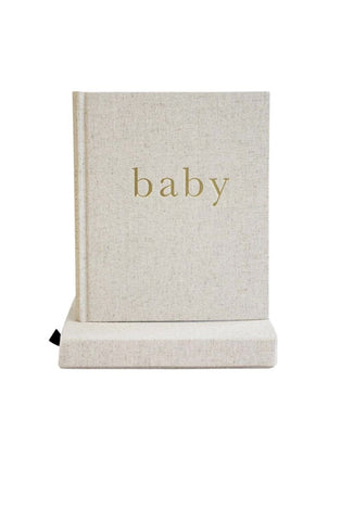 WRITE TO ME BABY JOURNAL THE FIRST YEAR OF YOU NATURAL / GOLD