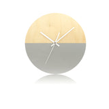 Half Moon Clock - Winters Ash-Amindy