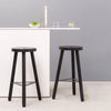Connect bar stool in all black