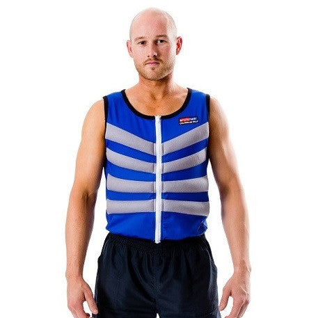 BODY COOLING VEST - Blue Small - 35 inch, Cooling Vest - ARCTIC HEAT USA, ARCTIC HEAT USA  - 1