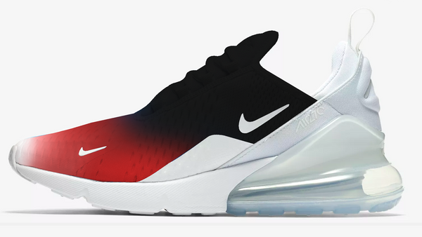 "Air max 270 "" Dark Red "" Custom"