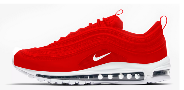 "Air max 97 "" Strawberry "" Custom"
