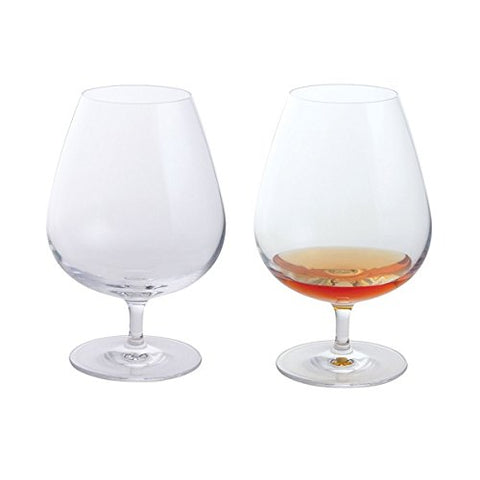 Dartington Personalised Any Occasion Wine & Bar Pair of Brandy Glasses - Add Your Own Message
