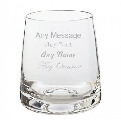 Dartington Personalised Any Occasion Whiskey Collection - The Classic Single Whisky Glass - Add message