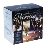 Dartington Personalised Prosecco Party Set of 6 Glasses - Add Your Own Message
