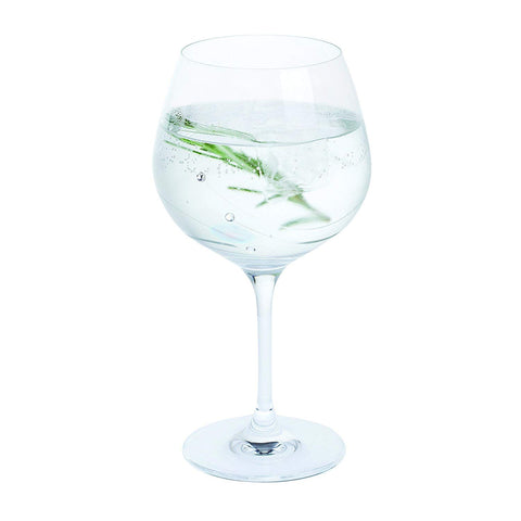 Personalised Dartington Glitz Gin & Tonic Copa Glass with Crystals - Add Your Own Message