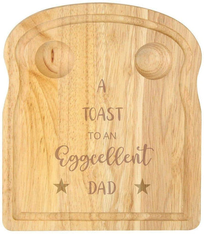 Breakfast Egg Board - A Toast to An Eggcellent Dad