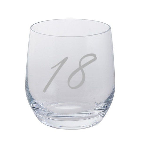 Dartington Crystal Birthday Tumbler Select Age