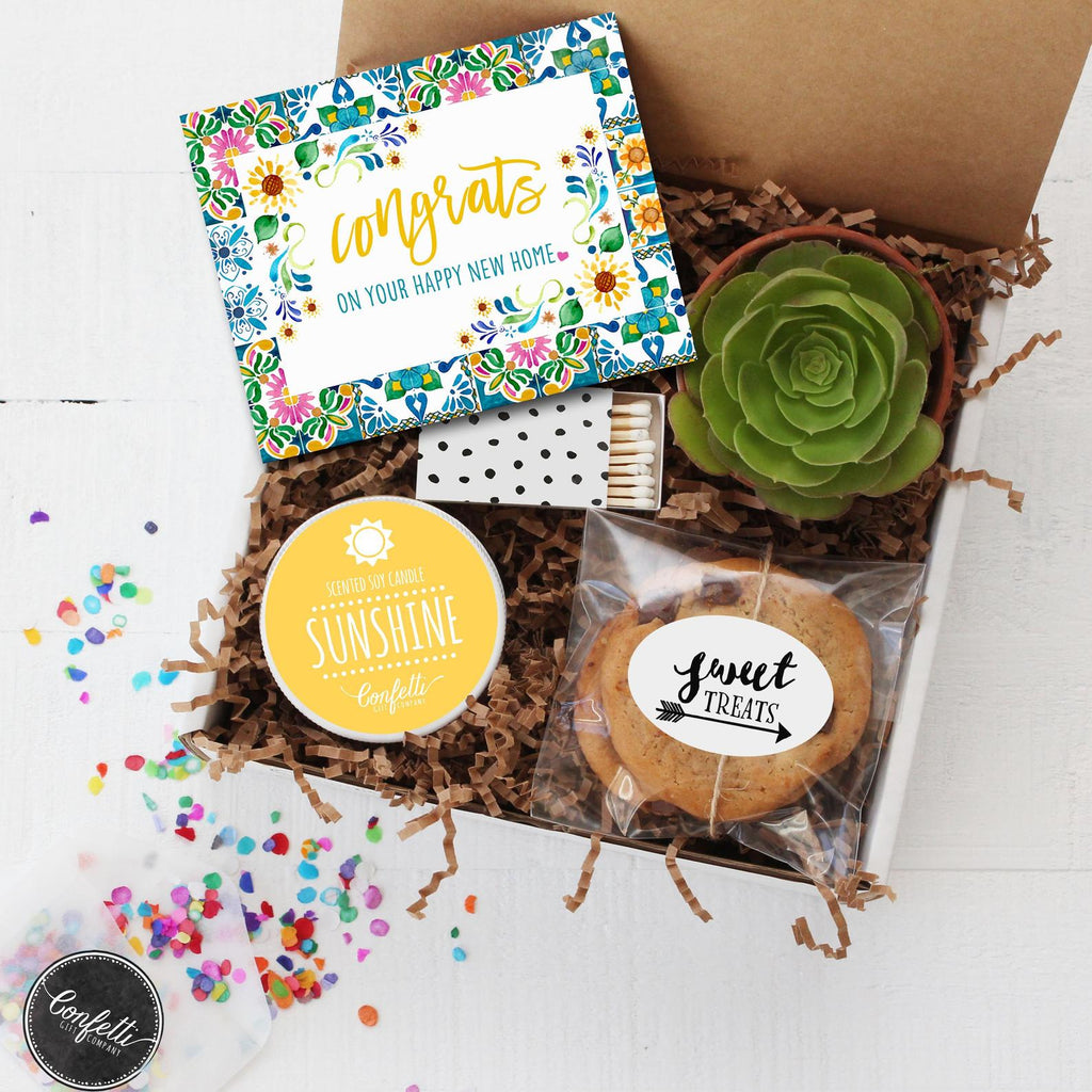 New Home Gift Box - Congrats on Your Happy New Home!