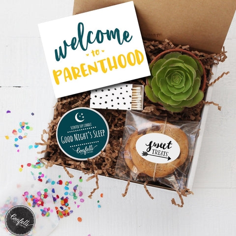 Welcome to Parenthood - New Parents Gift Box