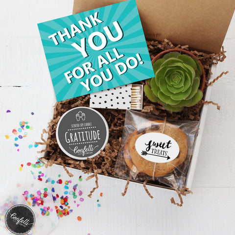 Thank You For All You Do Gift Box