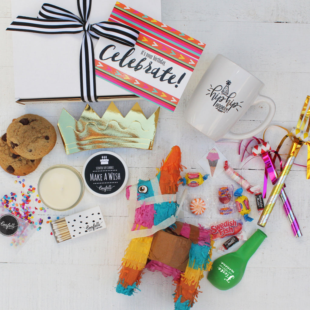 Celebrate, Birthday Gift Box