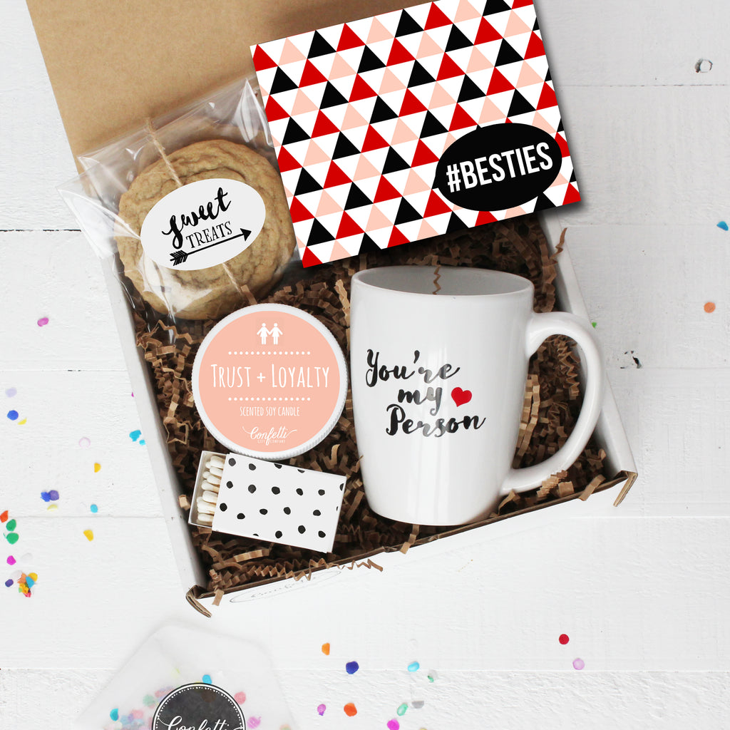Wedding Gift Ideas For Your Best Friend: Besties Gift Box - Best Friend Gift