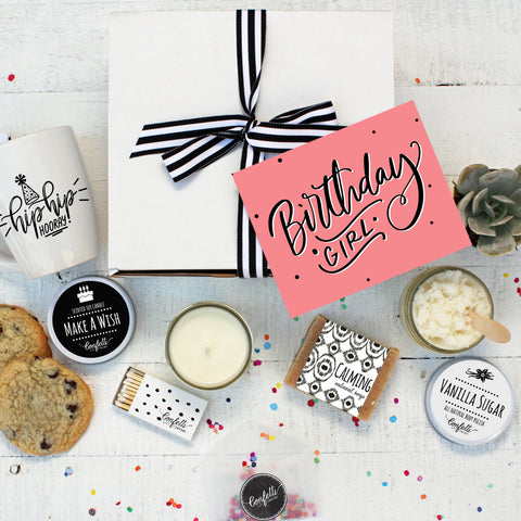 Birthday Girl Gift Box - The Works