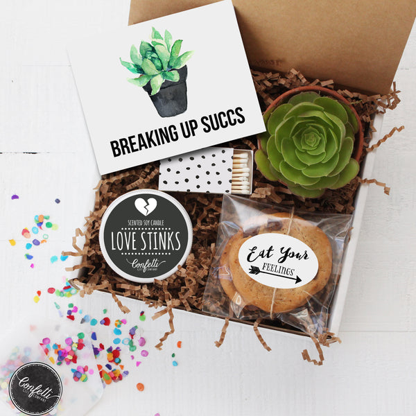 Break Up Gift Box- Breaking Up Succs