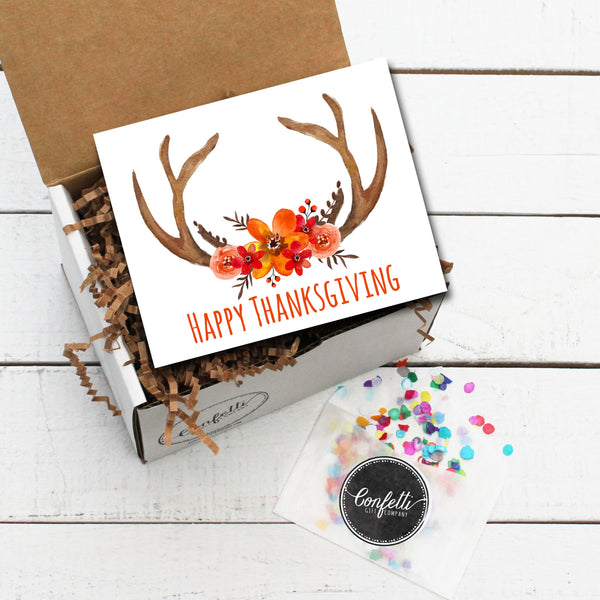Build Your Own Happy Thanksgiving Gift Box