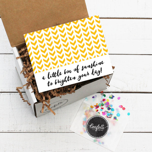 Build Your Own Little Box Of Sunshine Gift Box