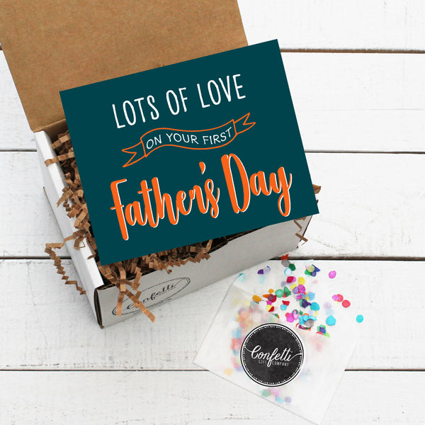 Build Your Own First Father's Day Gift Box