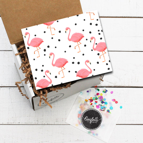 Build Your Own Flamingo Gift Box