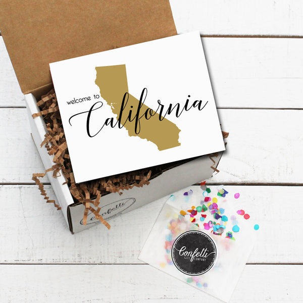 Build Your Own Welcome to California Gift Box