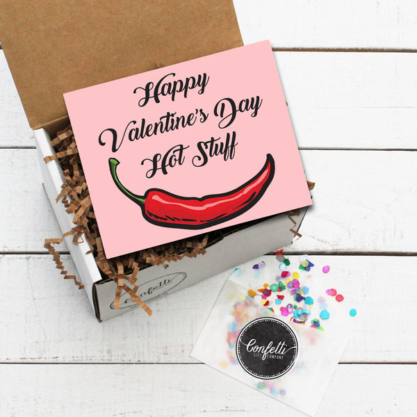 Build Your Own Happy Valentine's Day Hot Stuff Gift Box