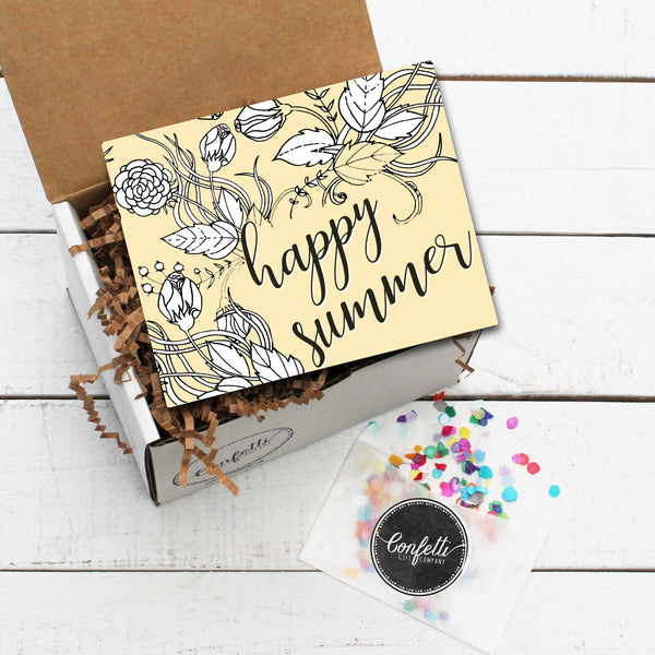 Build Your Own Happy Summer Gift Box