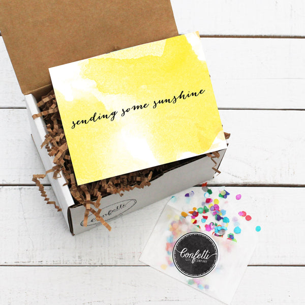 Build Your Own Sending Some Sunshine Gift Box