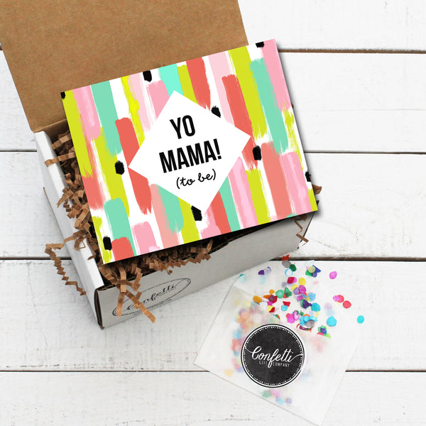 Build Your Own Yo Mama (to be) Gift Box
