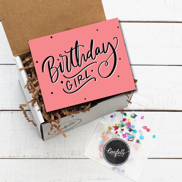 Build Your Own Birthday Girl Gift Box