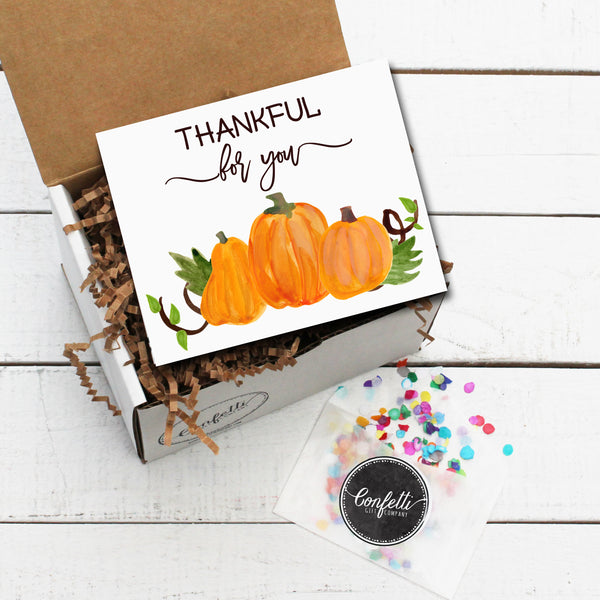 Build Your Own Thankful for You Gift Box