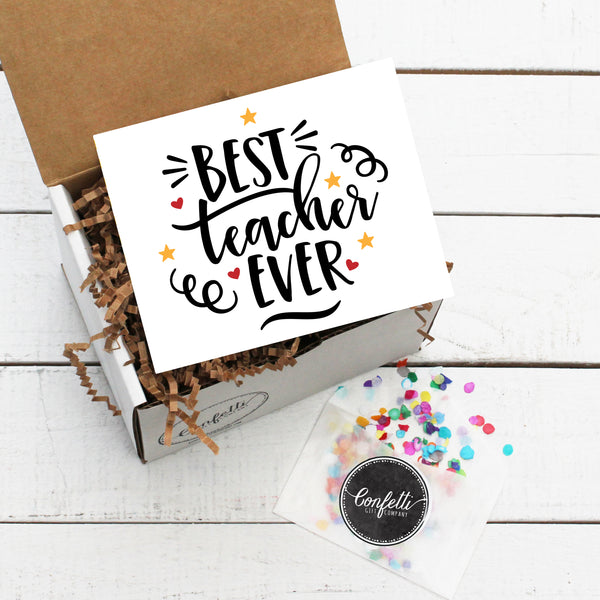 Build Your Own Best Teacher Ever Gift Box