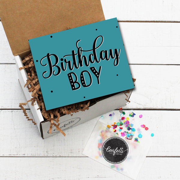 Build Your Own Birthday Boy Gift Box