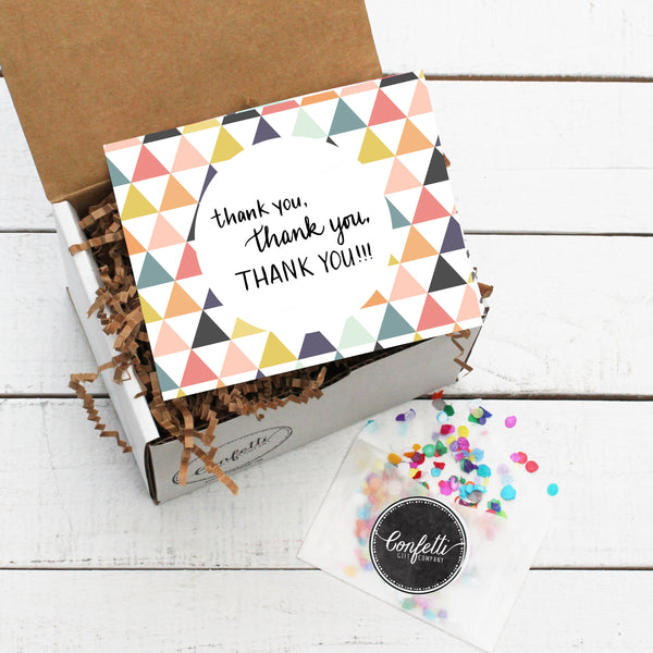 Build Your Thank You, Thank You, Thank You Gift Box