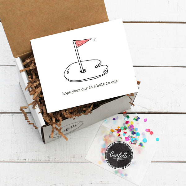 Build Your Own Hope Your Day Is A Hole In One Gift Box