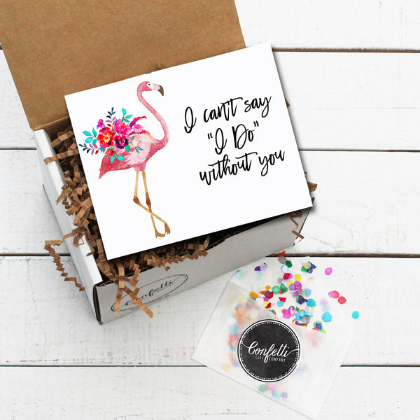 Build Your Own I Can't Say I Do Without You Gift Box