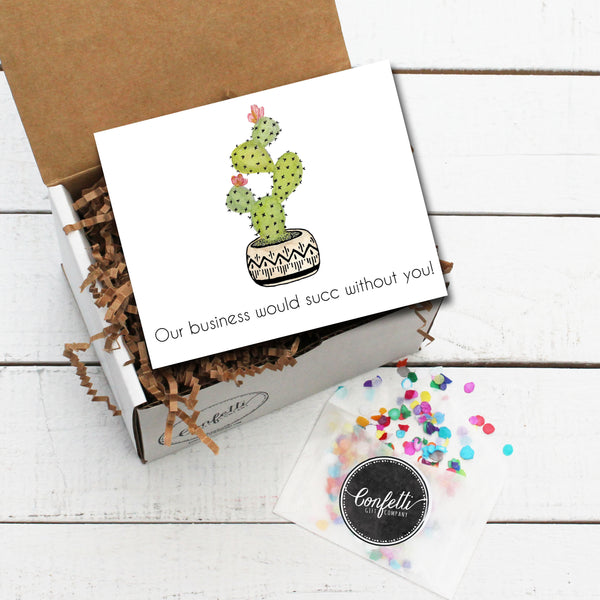 Build Your Own Our Business Would Succ Without You Gift Box