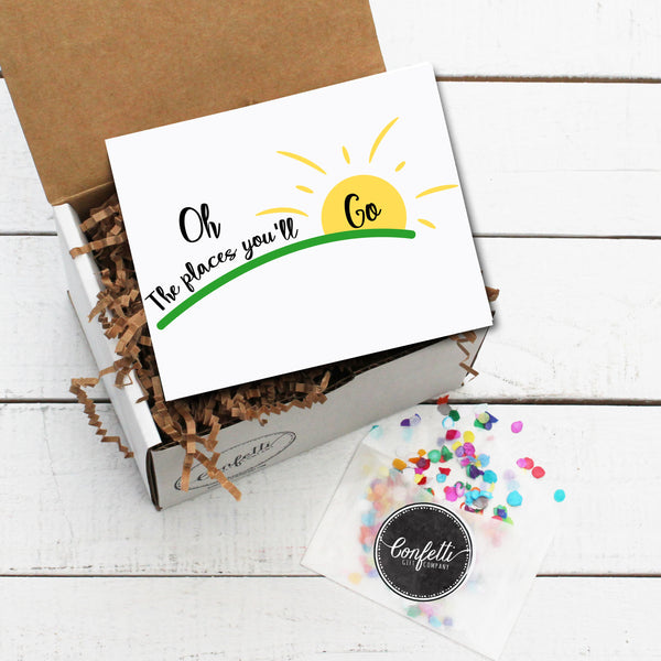 Build Your Own Oh The Places You'll Go Gift Box