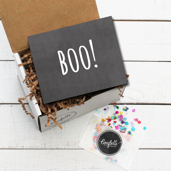 Build Your Own BOO Gift Box