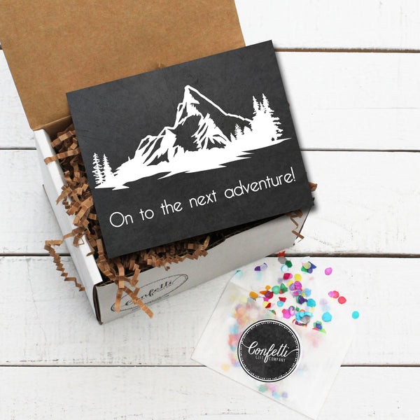 Build Your Own On To The Next Adventure Gift Box