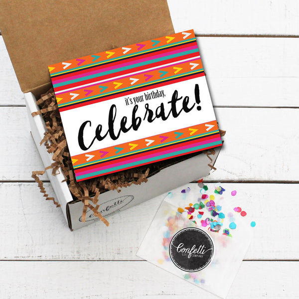 Build Your Own It's Your Birthday, Celebrate! Gift Box