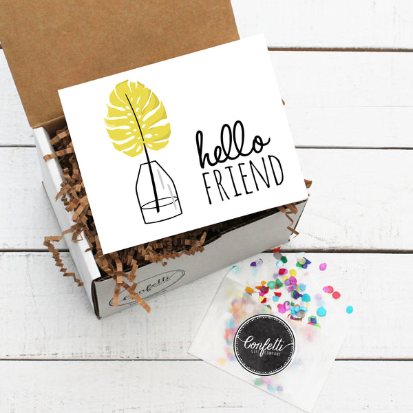 Build Your Own Hello Friend Gift Box