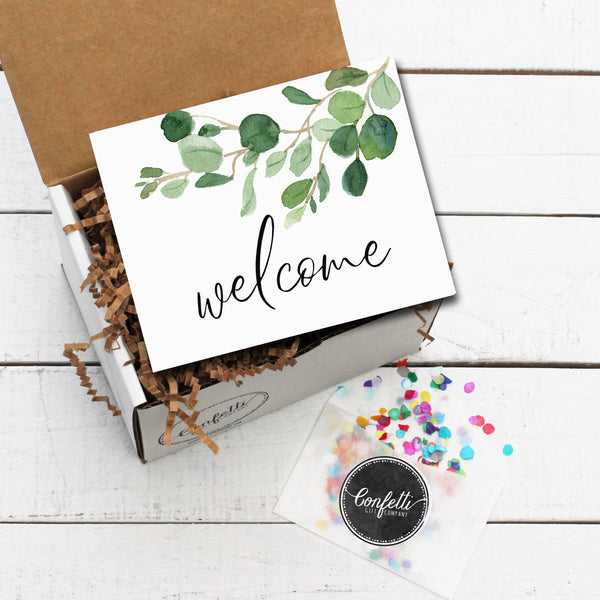 Build Your Own Welcome Eucalyptus Gift Box