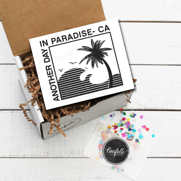 Build Your Own Another Day in Paradise - CA Gift Box