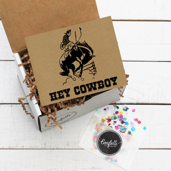 Build Your Own Hey Cowboy Gift Box