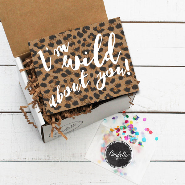 Build Your Own I'm Wild About You Gift Box