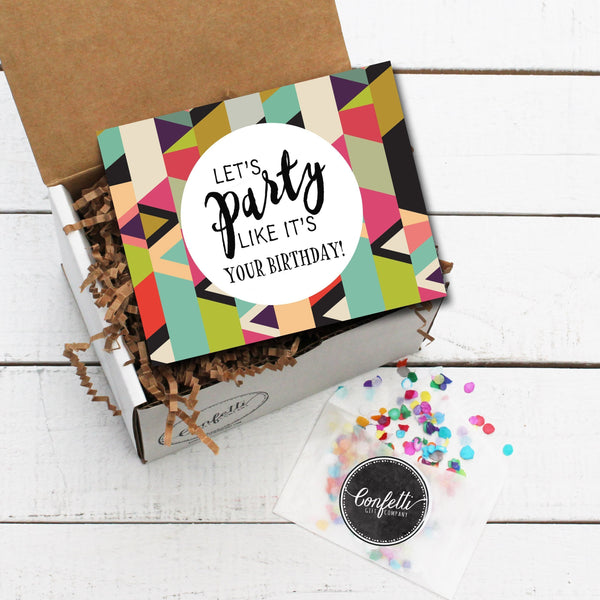 Build Your Own Let's Party Like It's Your Birthday Gift Box