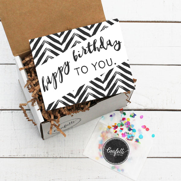 Build Your Own Happy Birthday To You Gift Box